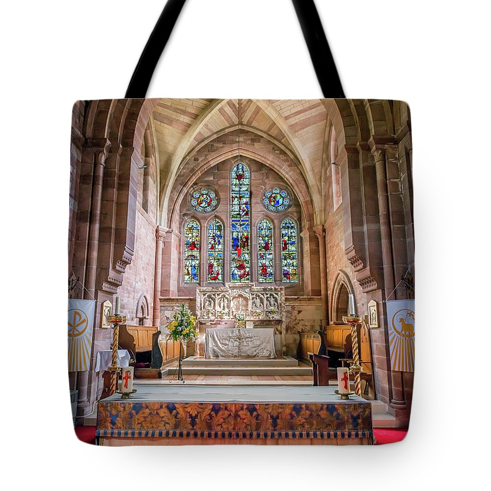 Catholic Tote Bag featuring the photograph A Sacred Place by Adrian Evans