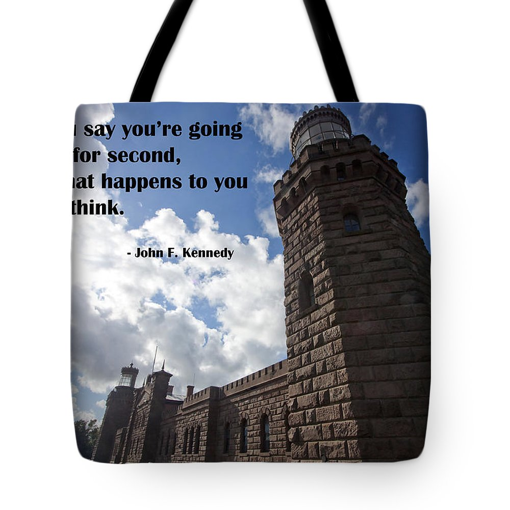 Light Tote Bag featuring the photograph A Second Thought by Mary Haber