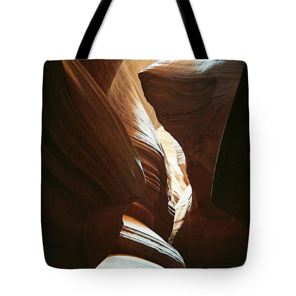 Arizona Tote Bag featuring the photograph A Spritual Light by Cathy Franklin