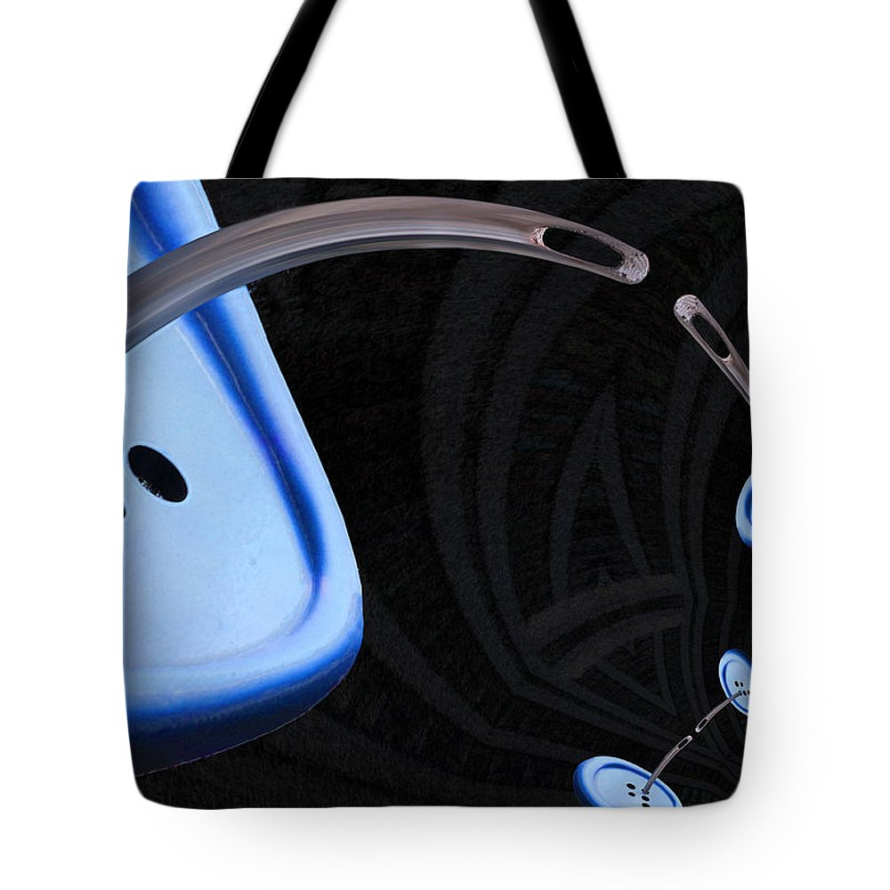 Photography Tote Bag featuring the photograph A Stitch In Time by Paul Wear