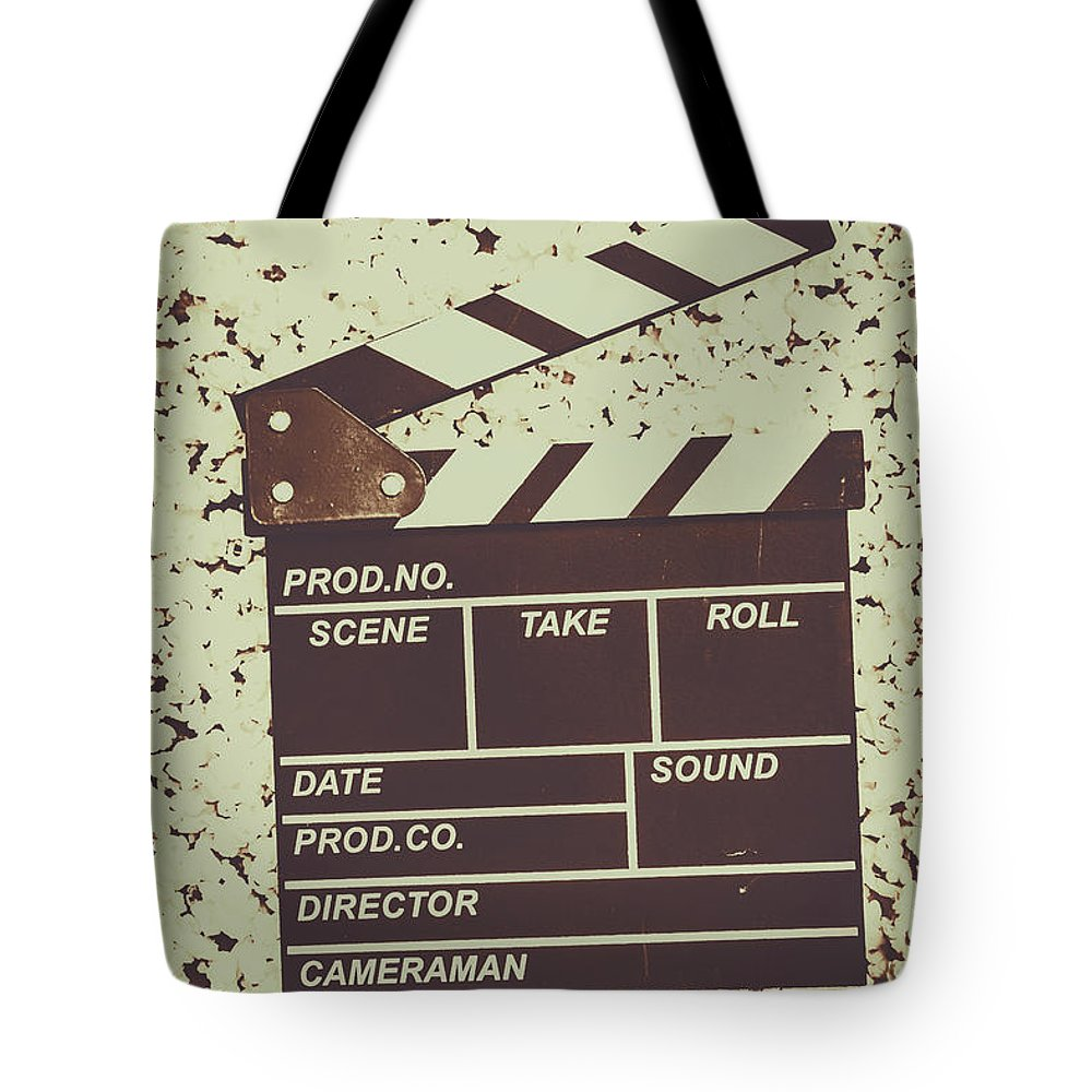 Entertainment Tote Bag featuring the photograph A Take From Old Hollywood by Jorgo Photography - Wall Art Gallery