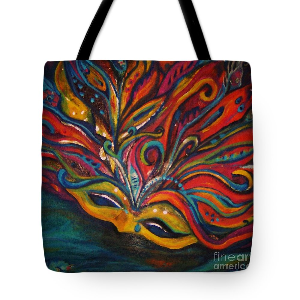 New Orleans Tote Bag featuring the painting A Tear For New Orleans by Sidra Myers