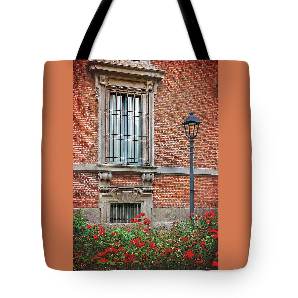 Italy Tote Bag featuring the photograph A Typical Italian Street by Carol Japp