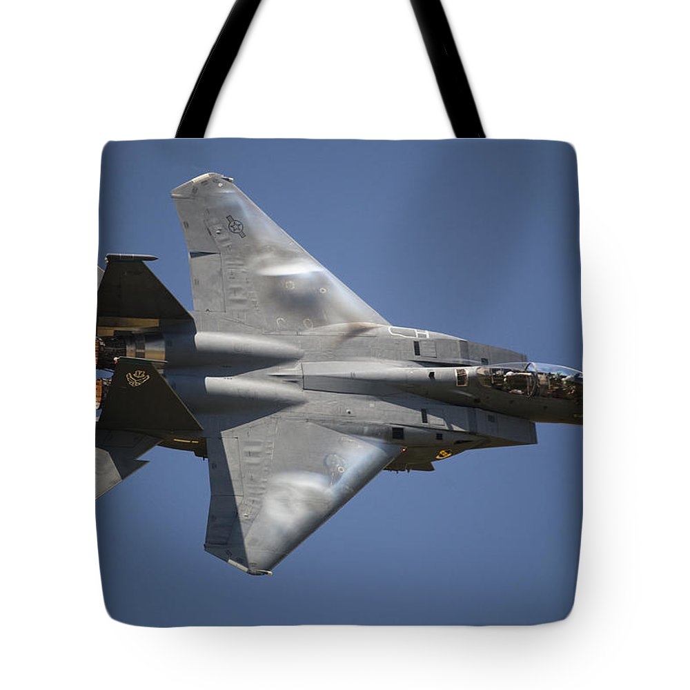 Day Tote Bag featuring the photograph A Unique Perspective Shows The Top by Pete Ryan
