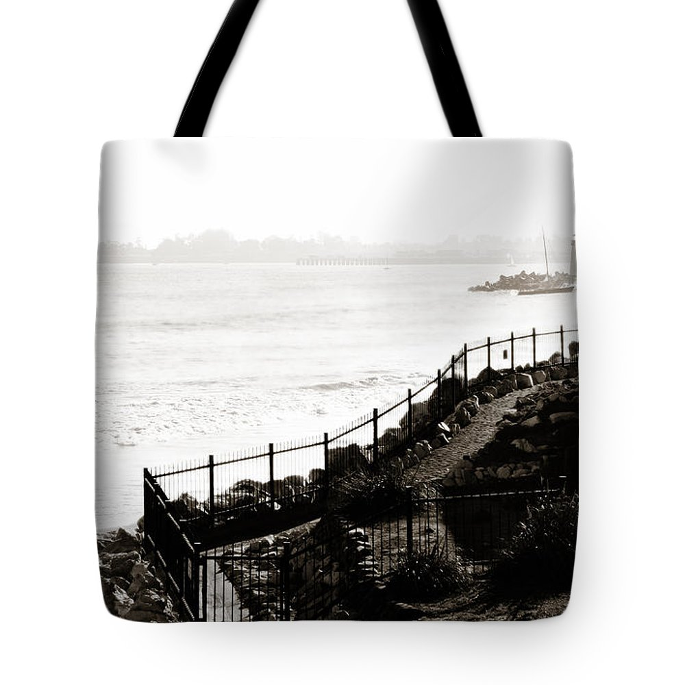 View Tote Bag featuring the photograph A View From Above by Marilyn Hunt