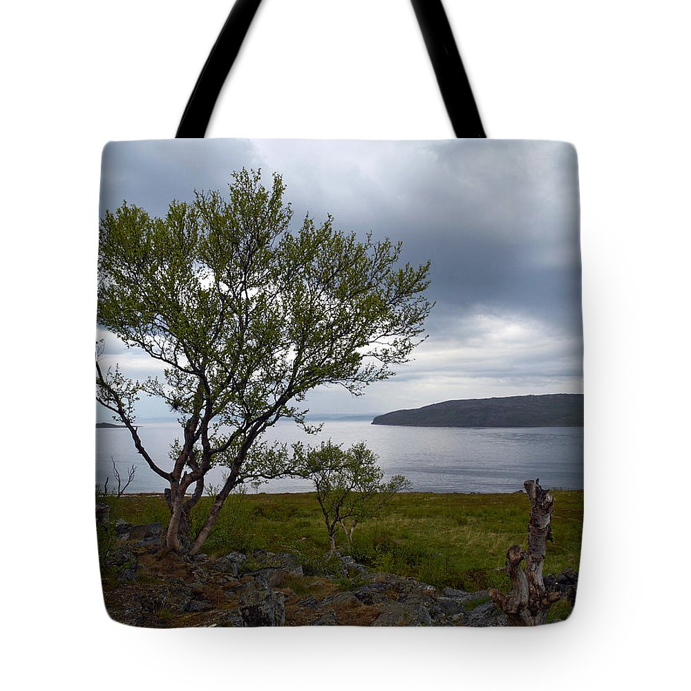 Lehtokukka Tote Bag featuring the photograph A View To The Arctic Sea by Jouko Lehto