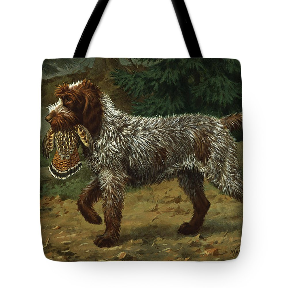 Griffon Tote Bags
