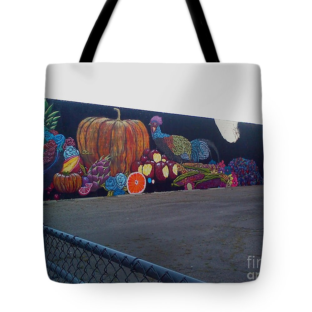 Tote Bag featuring the photograph A Work In Progress by Kelly Awad