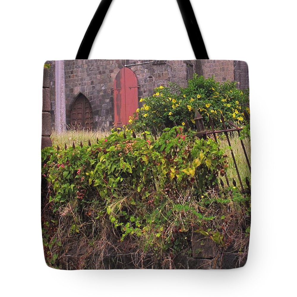 Anglican Tote Bag featuring the photograph Abandoned Churchyard by Ian MacDonald