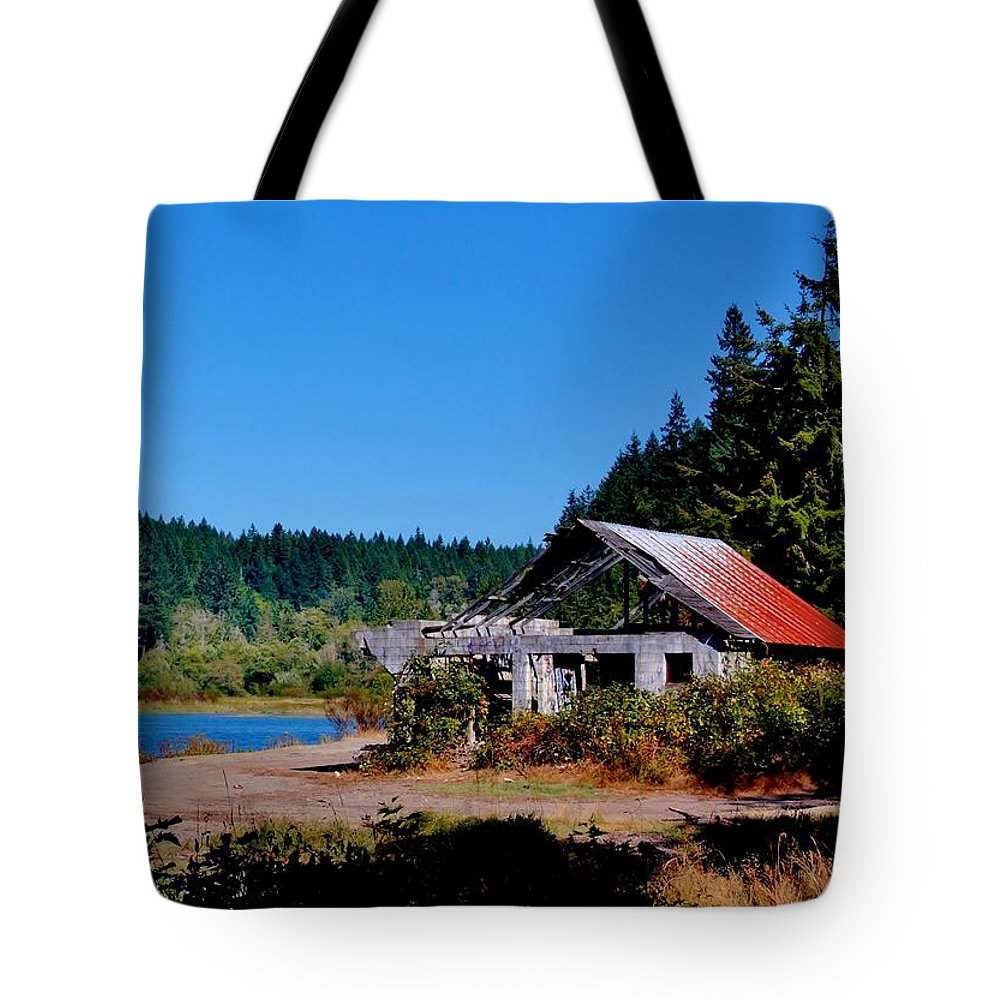 House Tote Bag featuring the photograph Abandoned by Stacie Gary