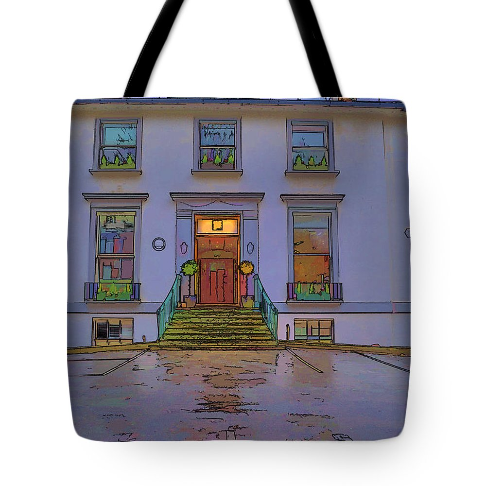 Abbey Road Studios Tote Bag featuring the photograph Abbey Road Recording Studios by Chris Thaxter