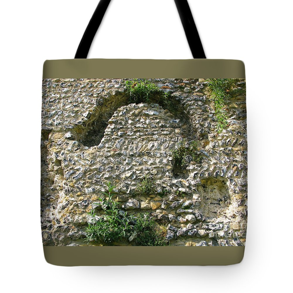 England Tote Bag featuring the photograph Abbey Ruins by Ann Horn