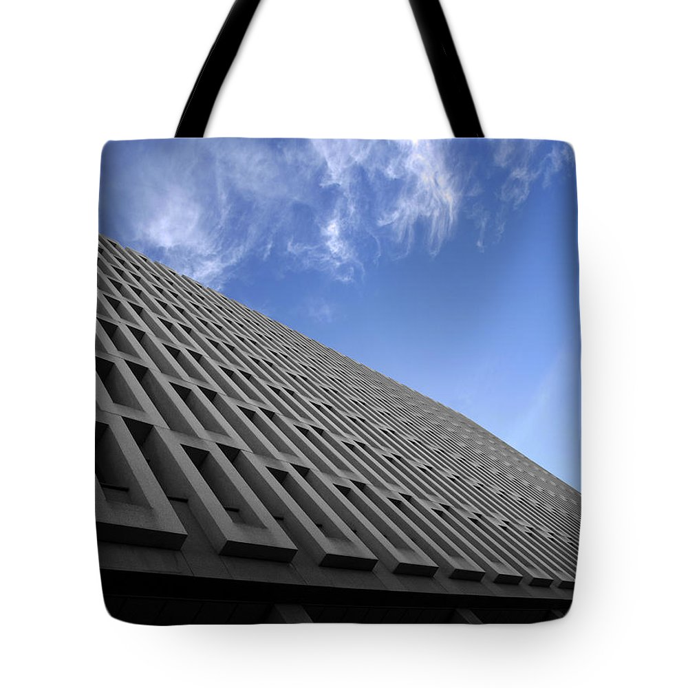 Building Tote Bag featuring the photograph ABC by Kelly Jade King