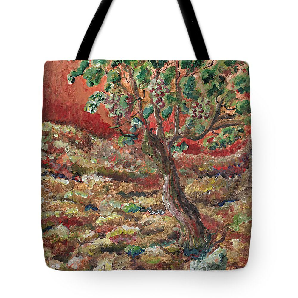 Abide Tote Bag featuring the painting Abide by Nadine Rippelmeyer