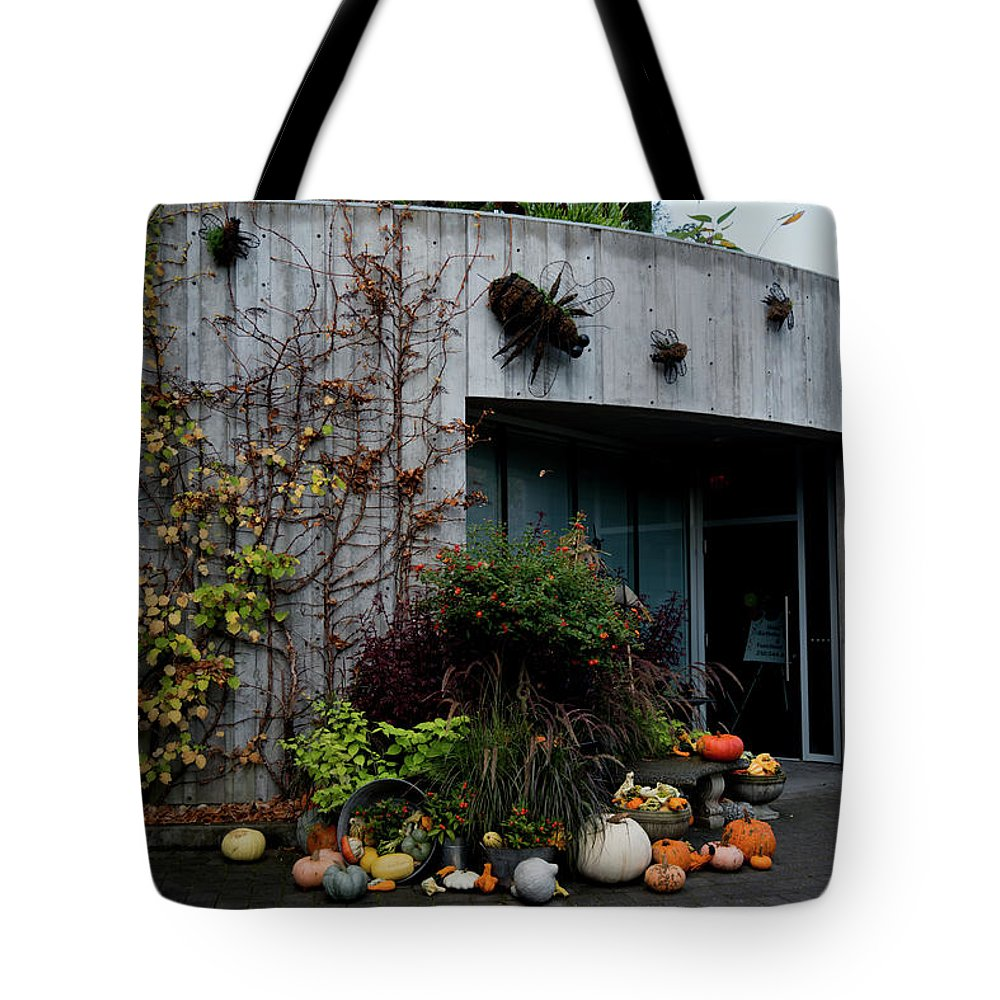 Outdoor Tote Bag featuring the photograph About Autumn 3. by Andrew Kim