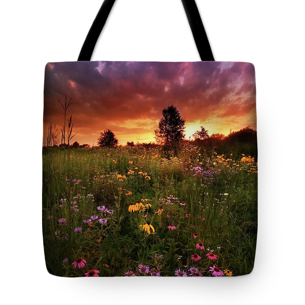 Tote Bag featuring the photograph Above And Below by Rob Blair