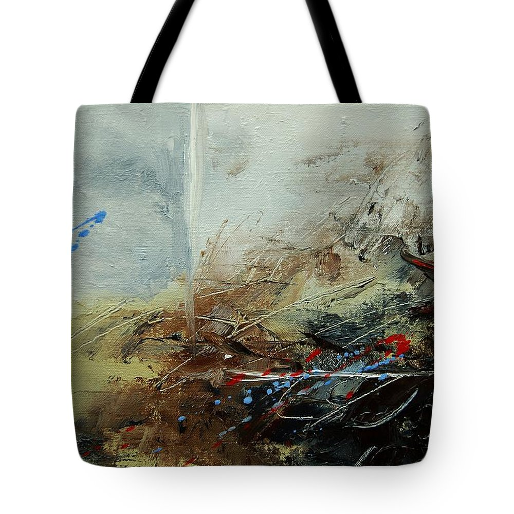 Abstract Tote Bag featuring the print Abstract 070408 by Pol Ledent
