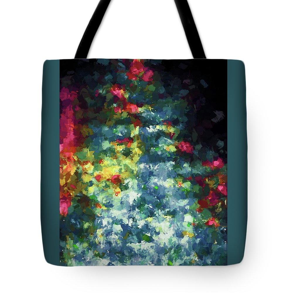 Abstract Tote Bag featuring the photograph Abstract 124 by Pamela Cooper