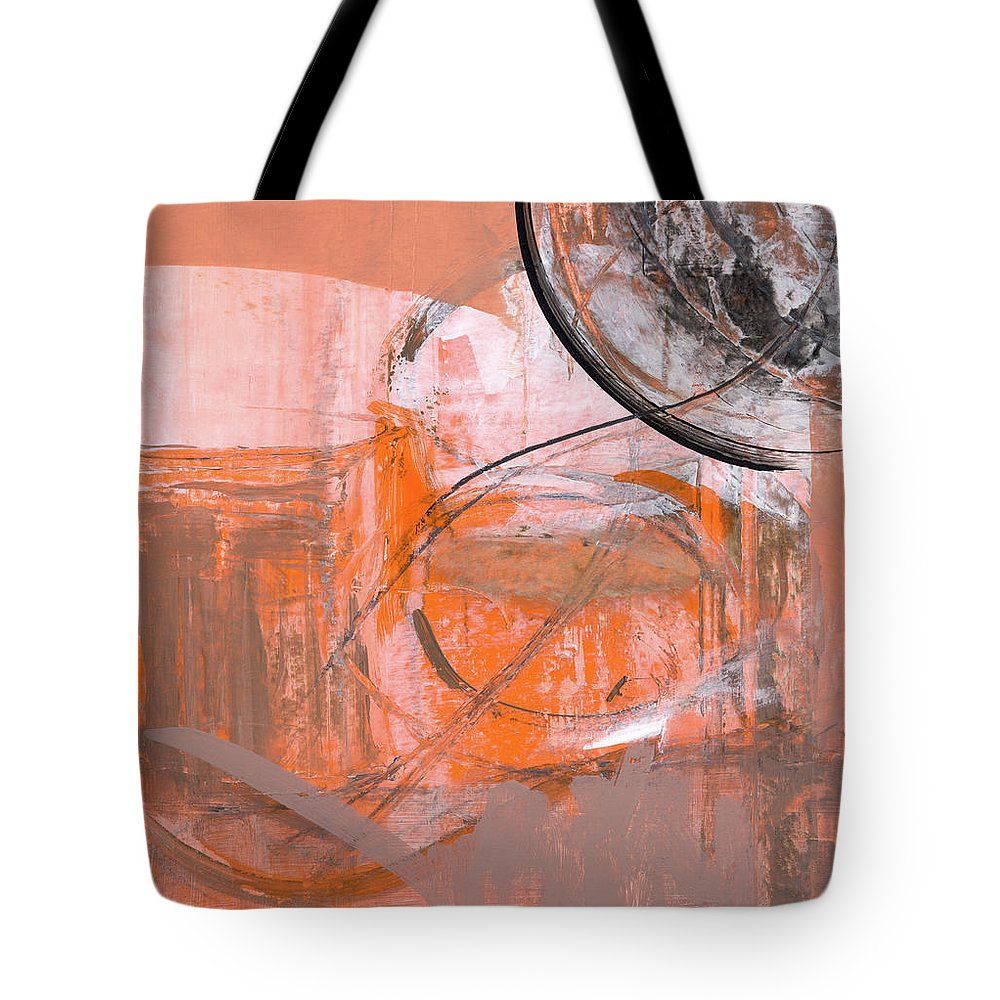 Abstract Tote Bag featuring the painting Rcnpaintings.com by Chris N Rohrbach
