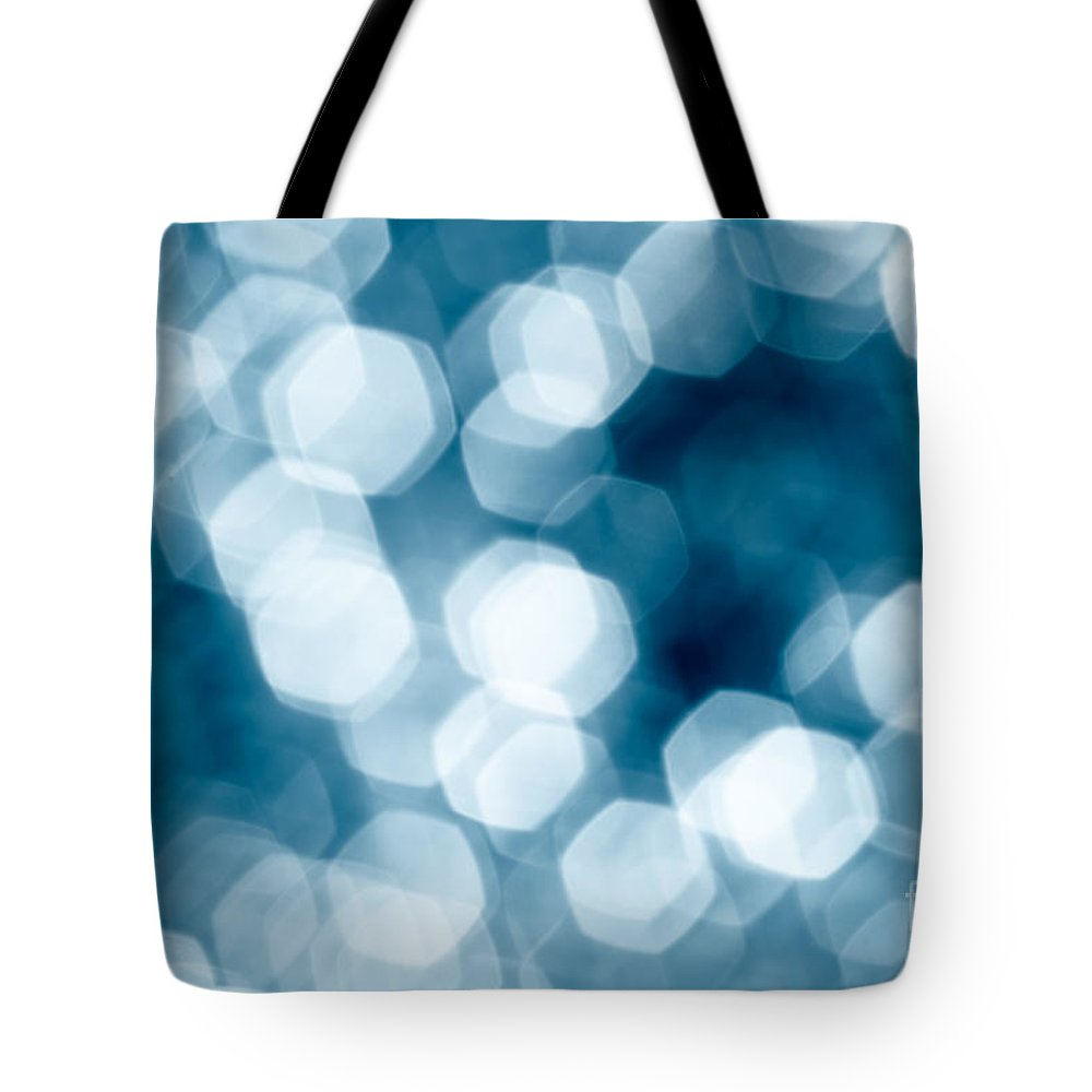 Abstract Tote Bag featuring the photograph Abstract Background by Gaspar Avila