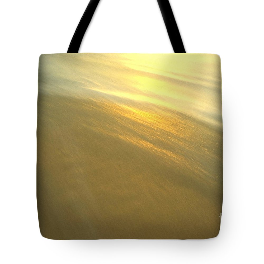 Beach Tote Bag featuring the photograph Abstract Beach by Sven Brogren
