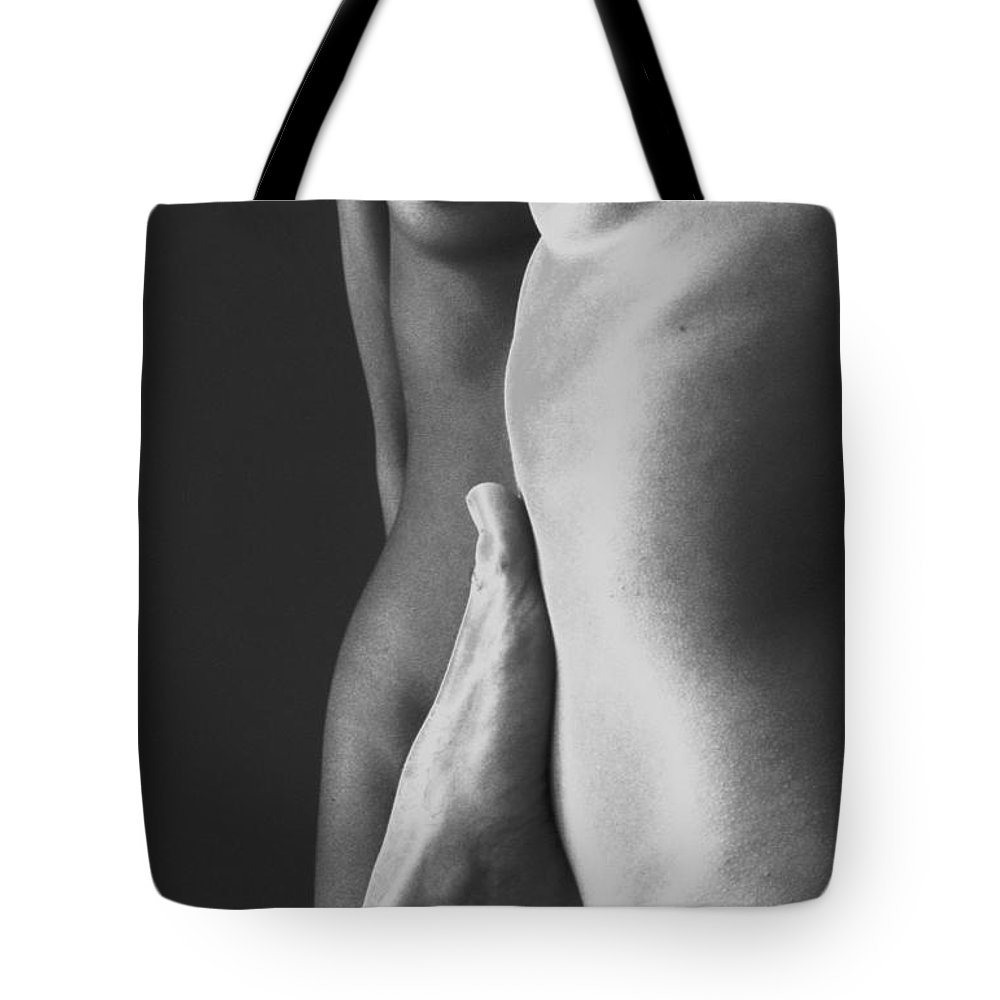 Wall D�cor Tote Bag featuring the photograph Abstract Bodies / 308 by Jean-Marie Bottequin