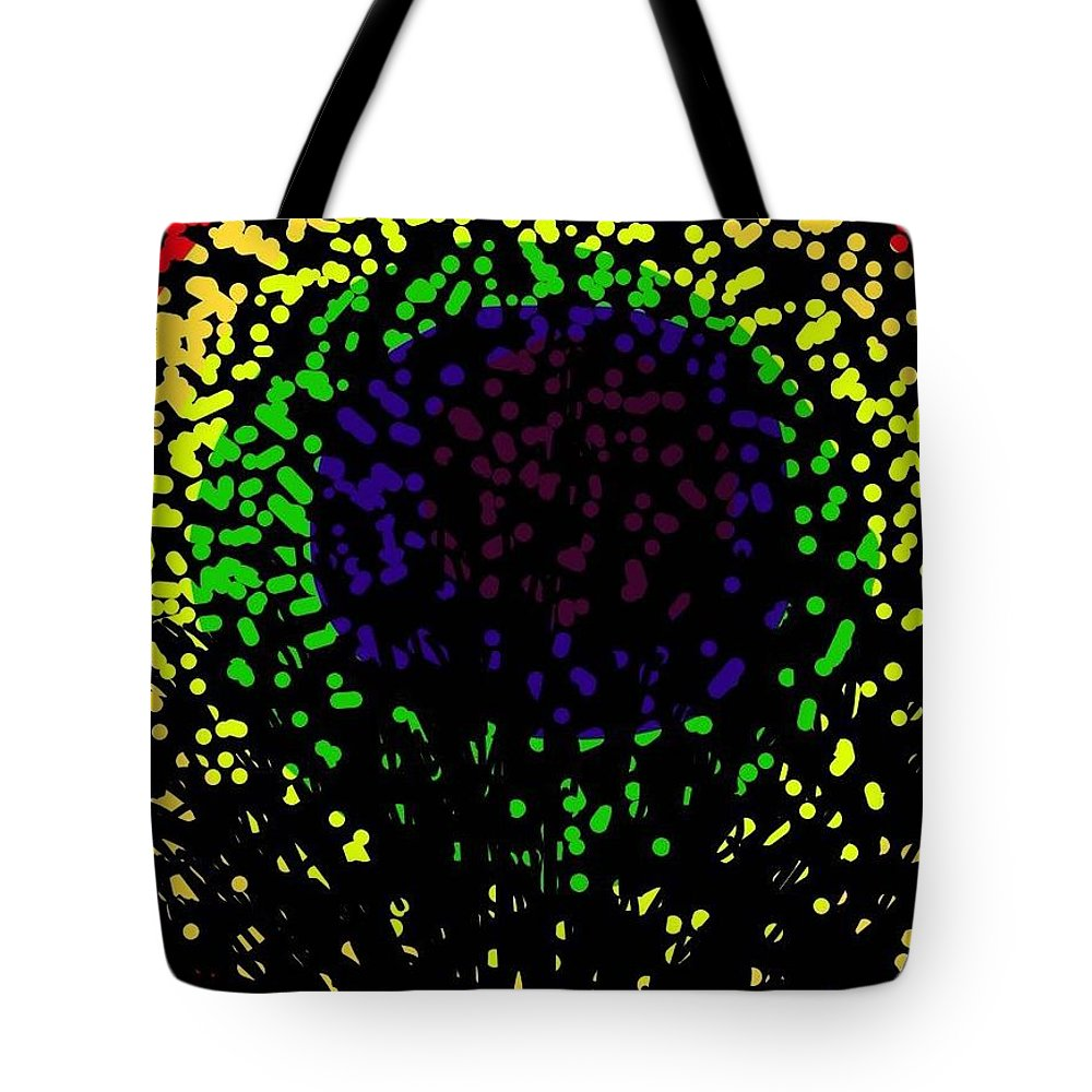 Prints Tote Bag featuring the photograph Abstract Cactus Eye by Ishy Christine MudiArt Gallery