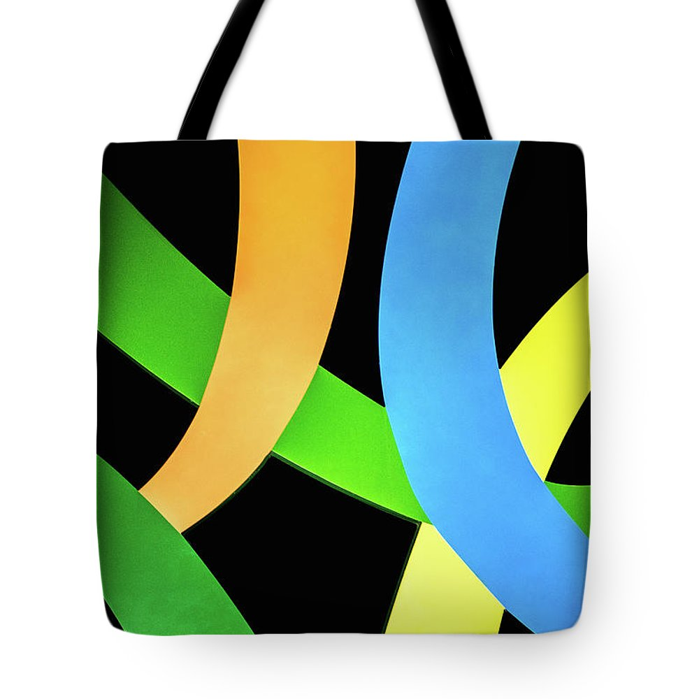 Colors Tote Bag featuring the photograph Abstract Colors by Don Johnson
