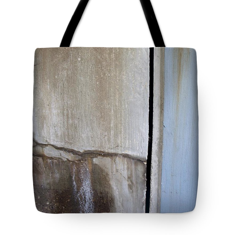 Industrial. Urban Tote Bag featuring the photograph Abstract Concrete 1 by Anita Burgermeister