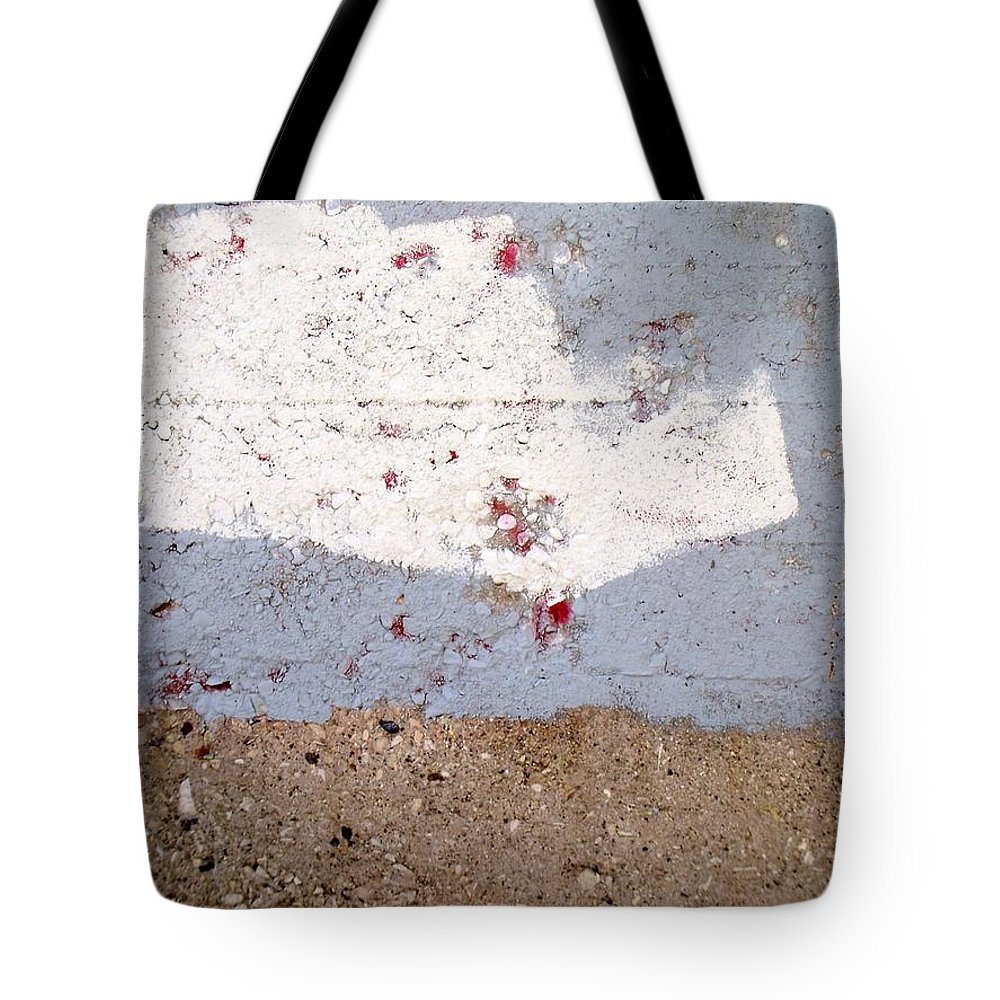 Industrial. Urban Tote Bag featuring the photograph Abstract Concrete 13 by Anita Burgermeister