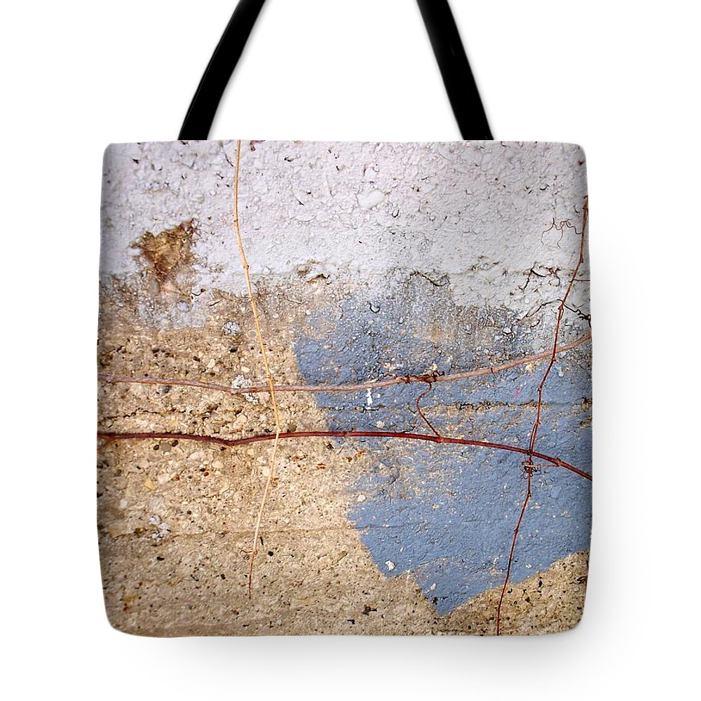 Industrial. Urban Tote Bag featuring the photograph Abstract Concrete 15 by Anita Burgermeister