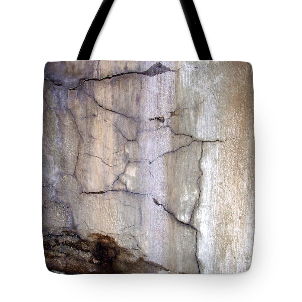 Industrial. Urban Tote Bag featuring the photograph Abstract Concrete 2 by Anita Burgermeister