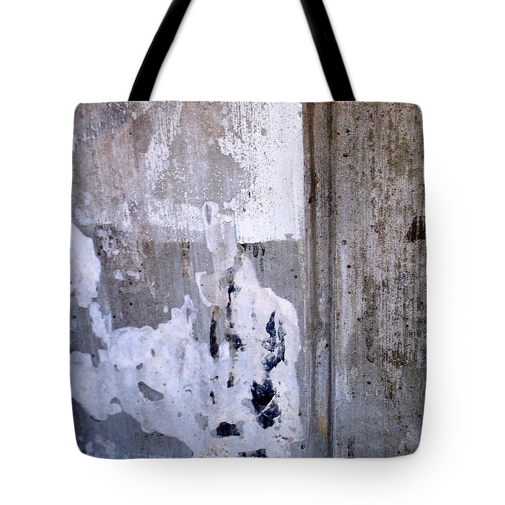 Industrial. Urban Tote Bag featuring the photograph Abstract Concrete 6 by Anita Burgermeister