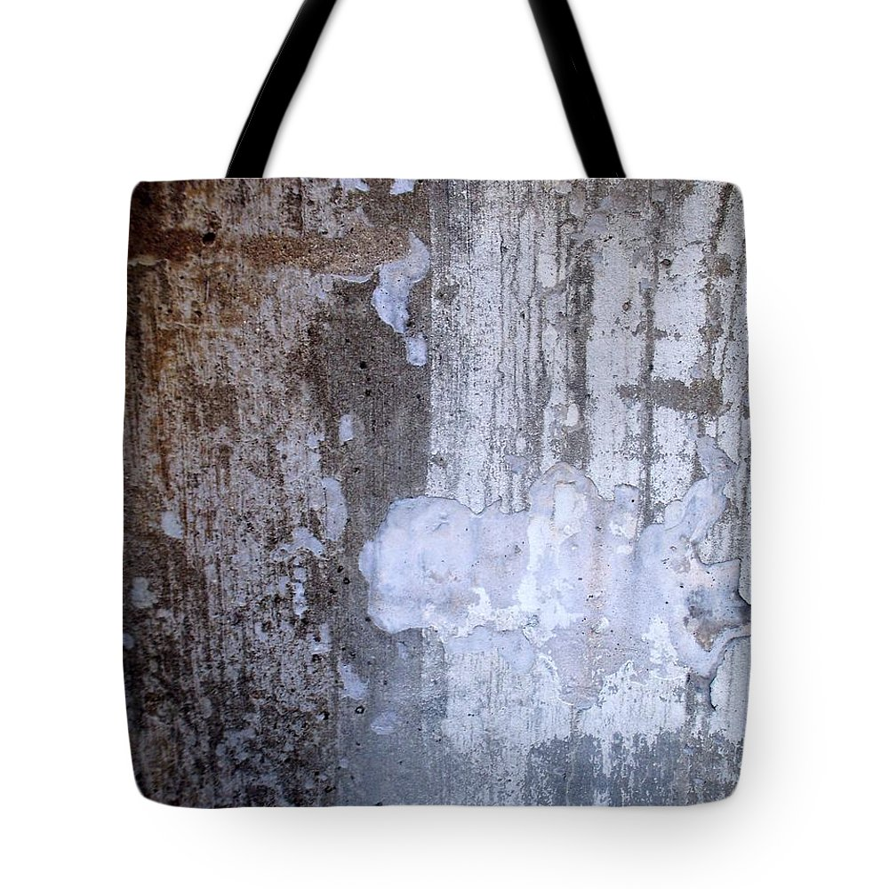 Industrial. Urban Tote Bag featuring the photograph Abstract Concrete 8 by Anita Burgermeister