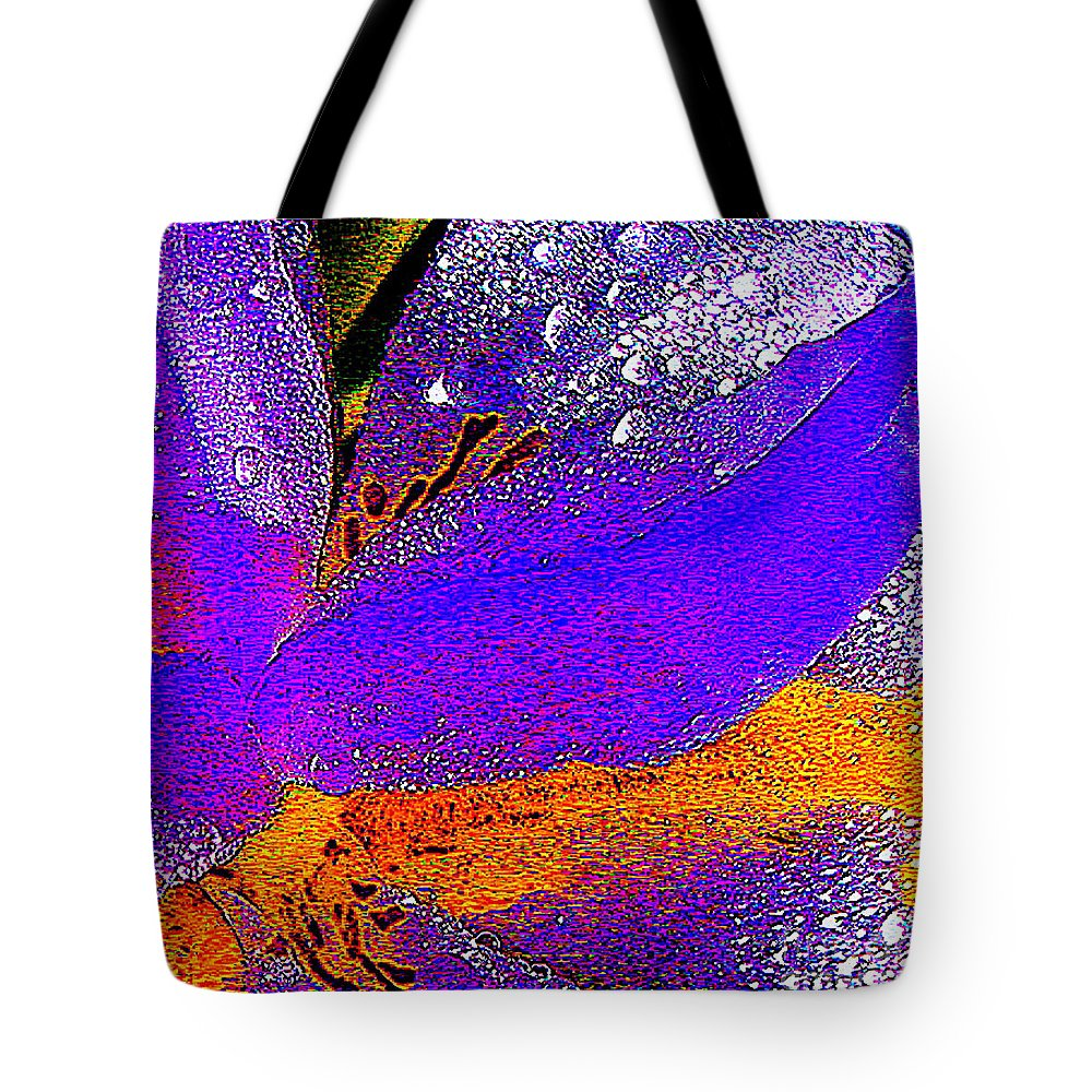 Flower Tote Bag featuring the photograph Abstract Flower by Jerome Stumphauzer