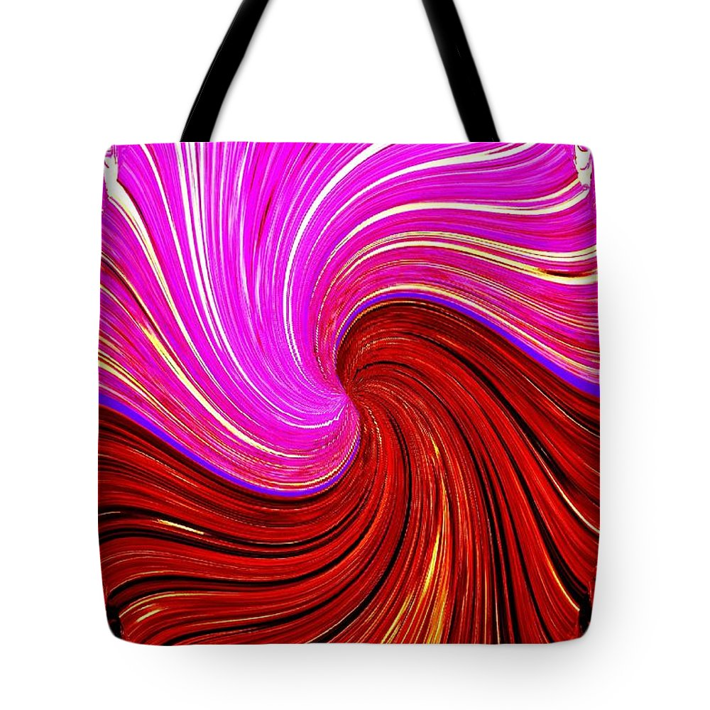 #abstractfusionart Tote Bag featuring the digital art Abstract Fusion 266 by Will Borden