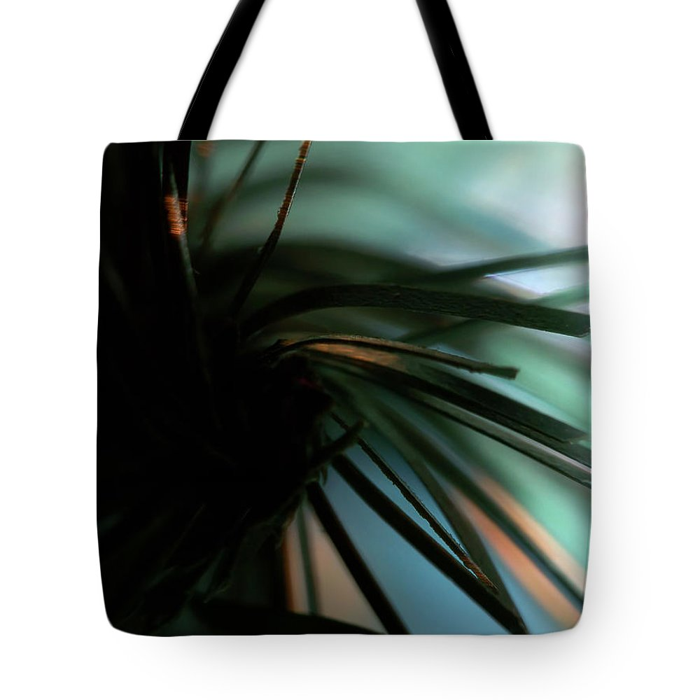 Abstract Tote Bag featuring the photograph Abstract by Lauren Radke