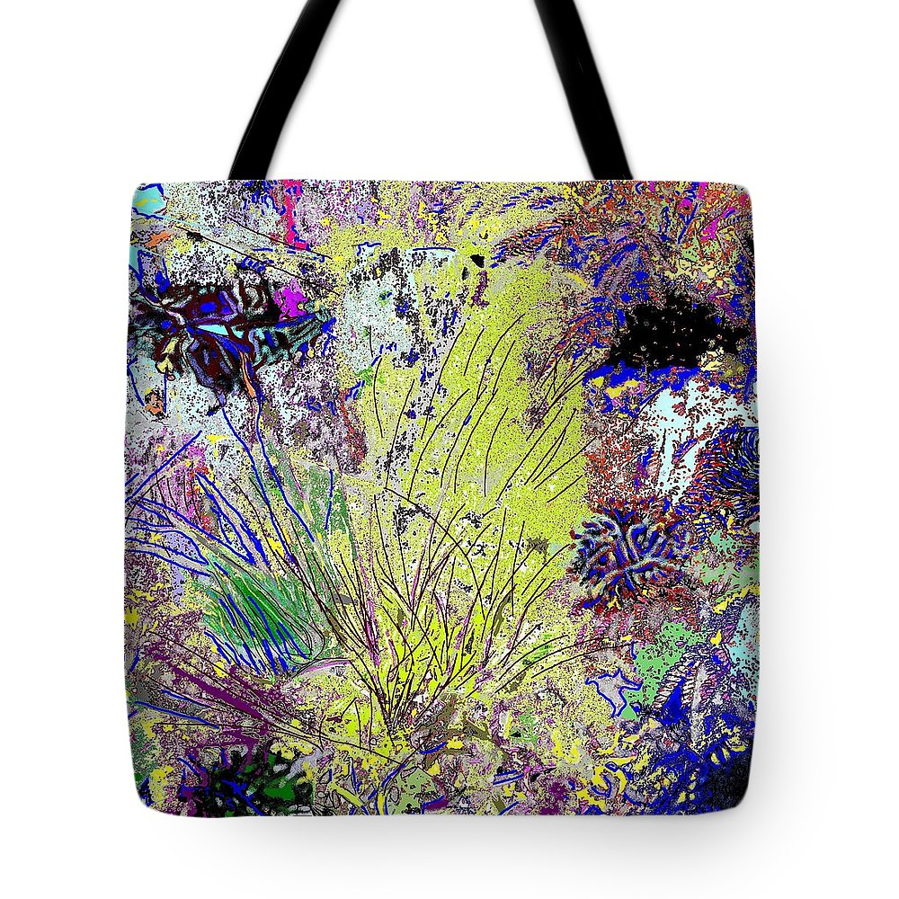 Abstract Tote Bag featuring the photograph Abstract Musings by Ian MacDonald