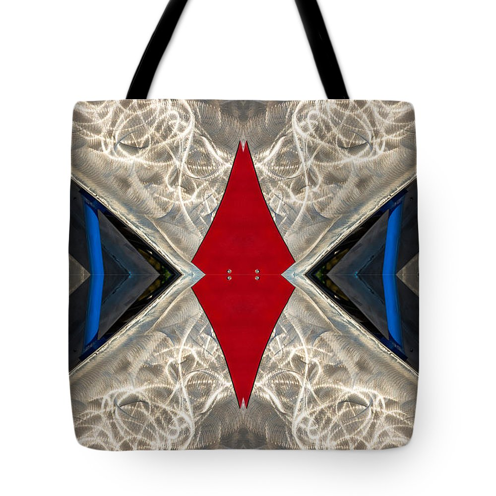 Tote Bag featuring the photograph Abstract Photomontage N41p4f175 Dsc7221 by Raymond Kunst