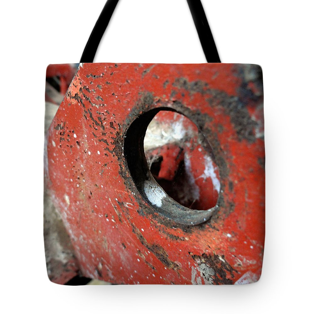 Textures Tote Bag featuring the photograph Abstract Textures by Trish Hale