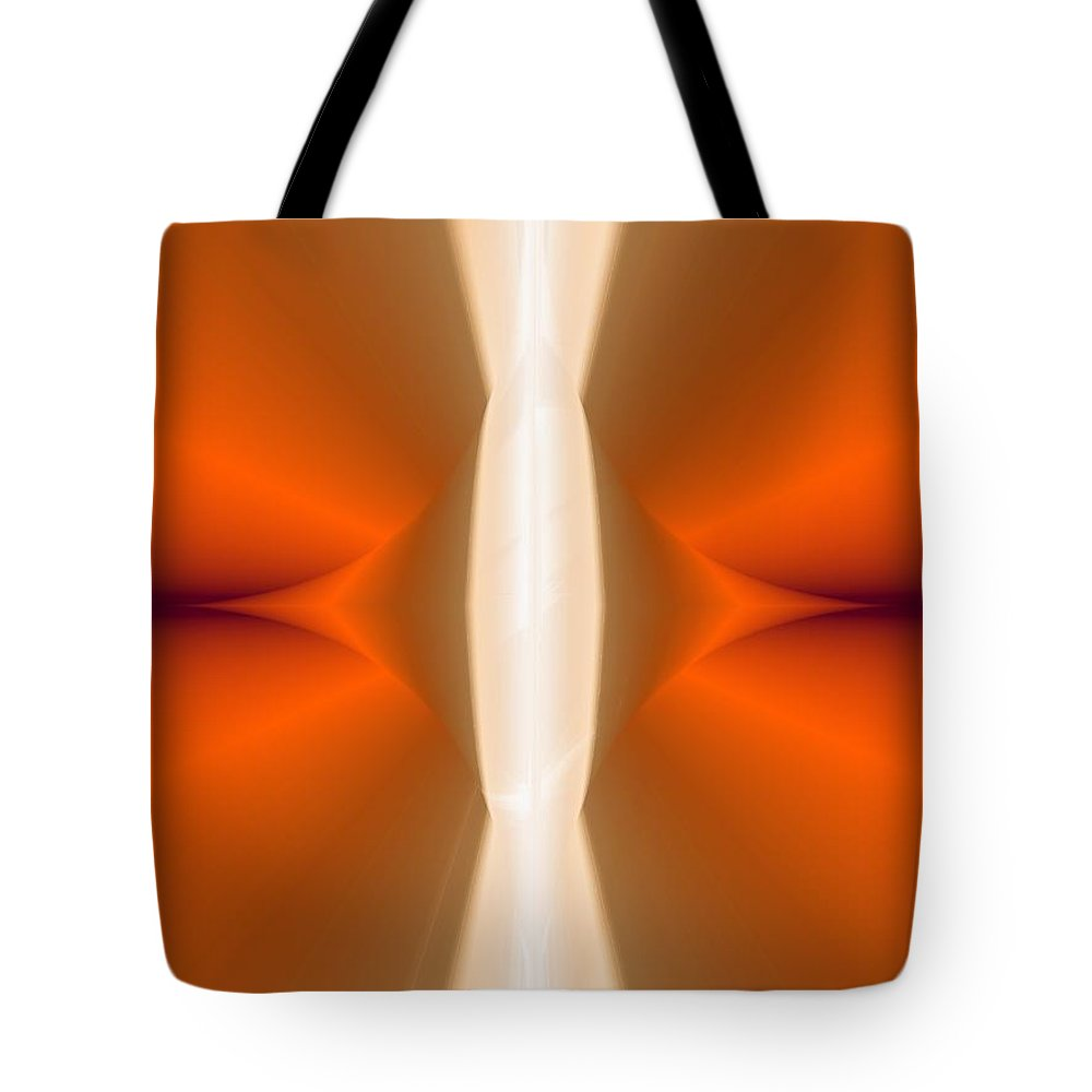 Digital Painting Tote Bag featuring the digital art Abstract309b by David Lane