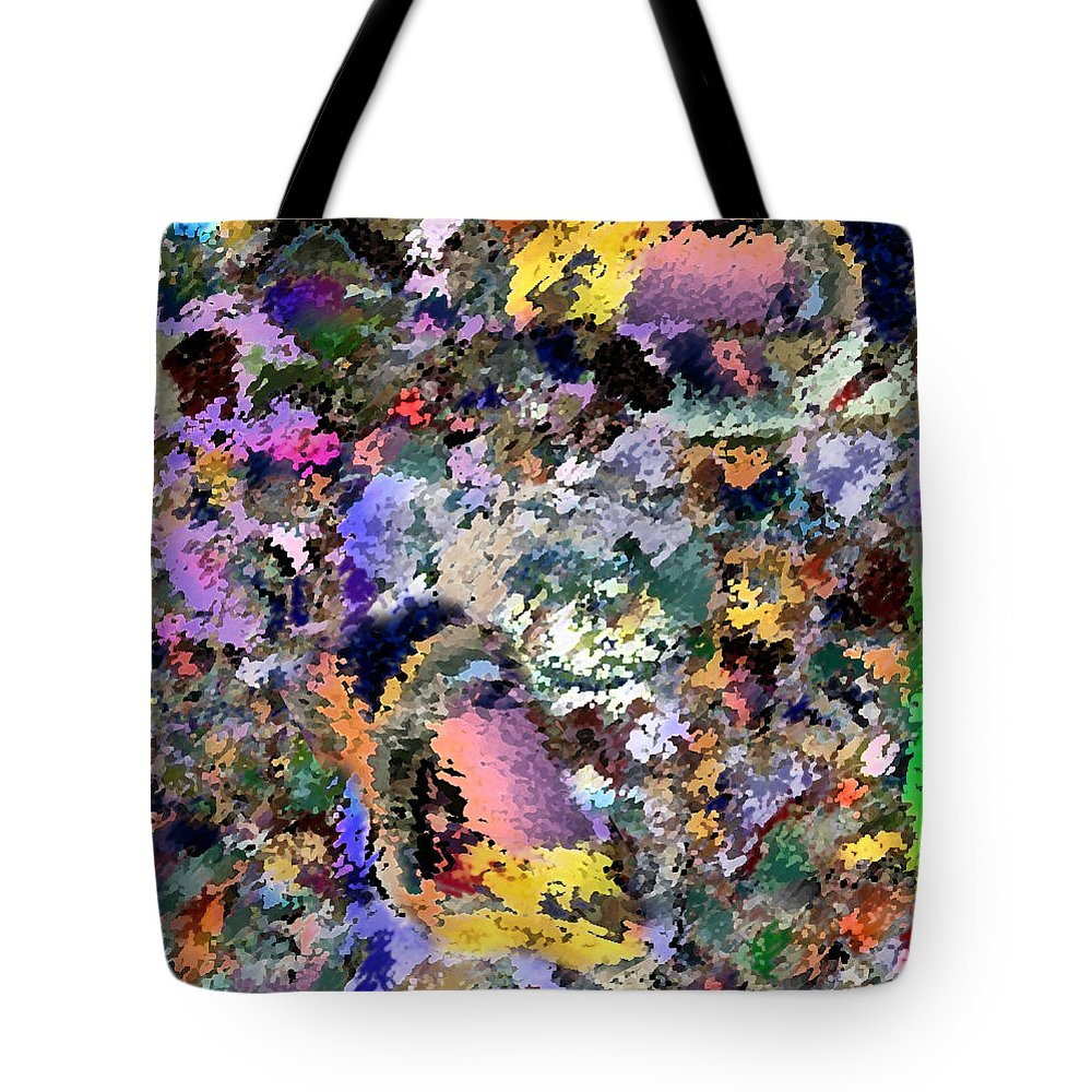 Abstracts Tote Bag featuring the digital art Abstractification by Jorge Delara