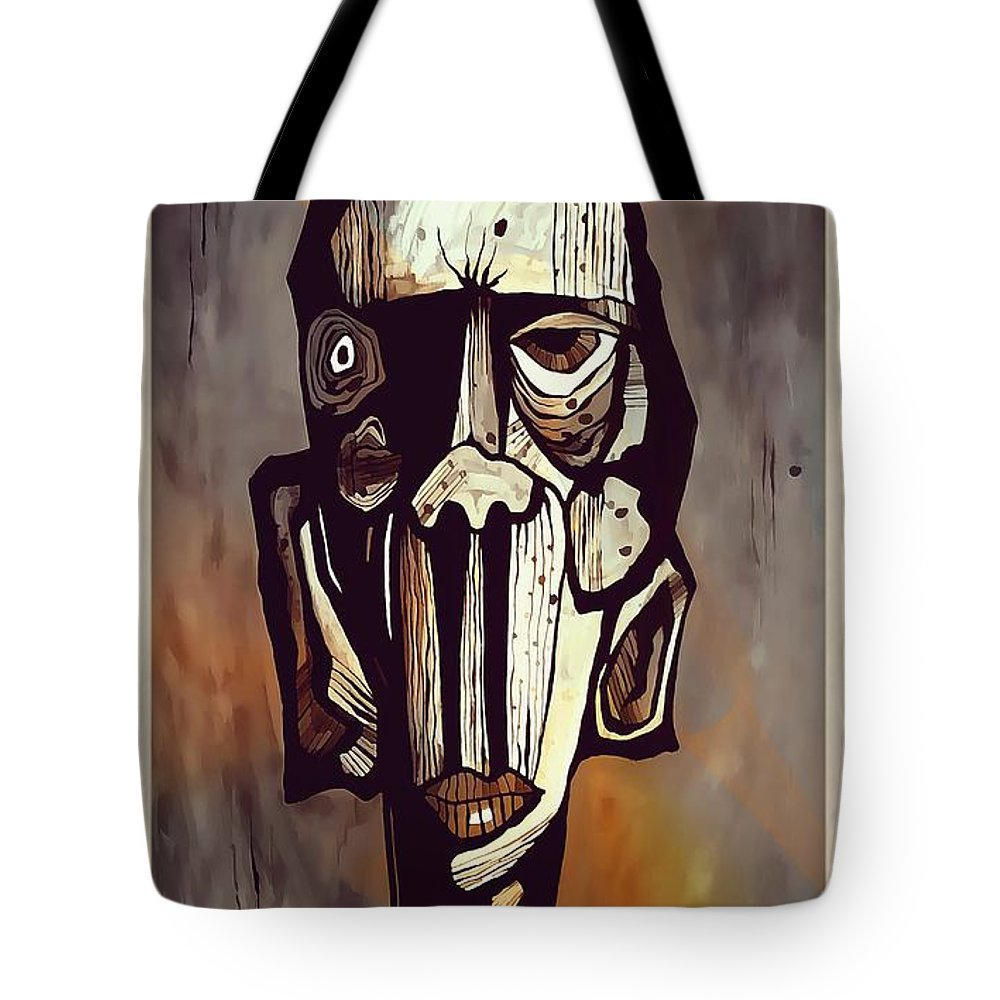Abstraction Tote Bag featuring the digital art Abstraction 3294 by Marek Lutek
