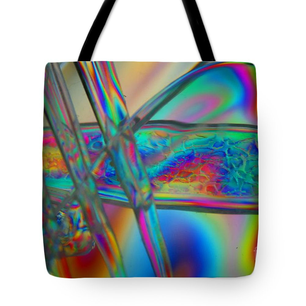 Abstract Tote Bag featuring the photograph Abstraction In Color 2 by Crystal Nederman