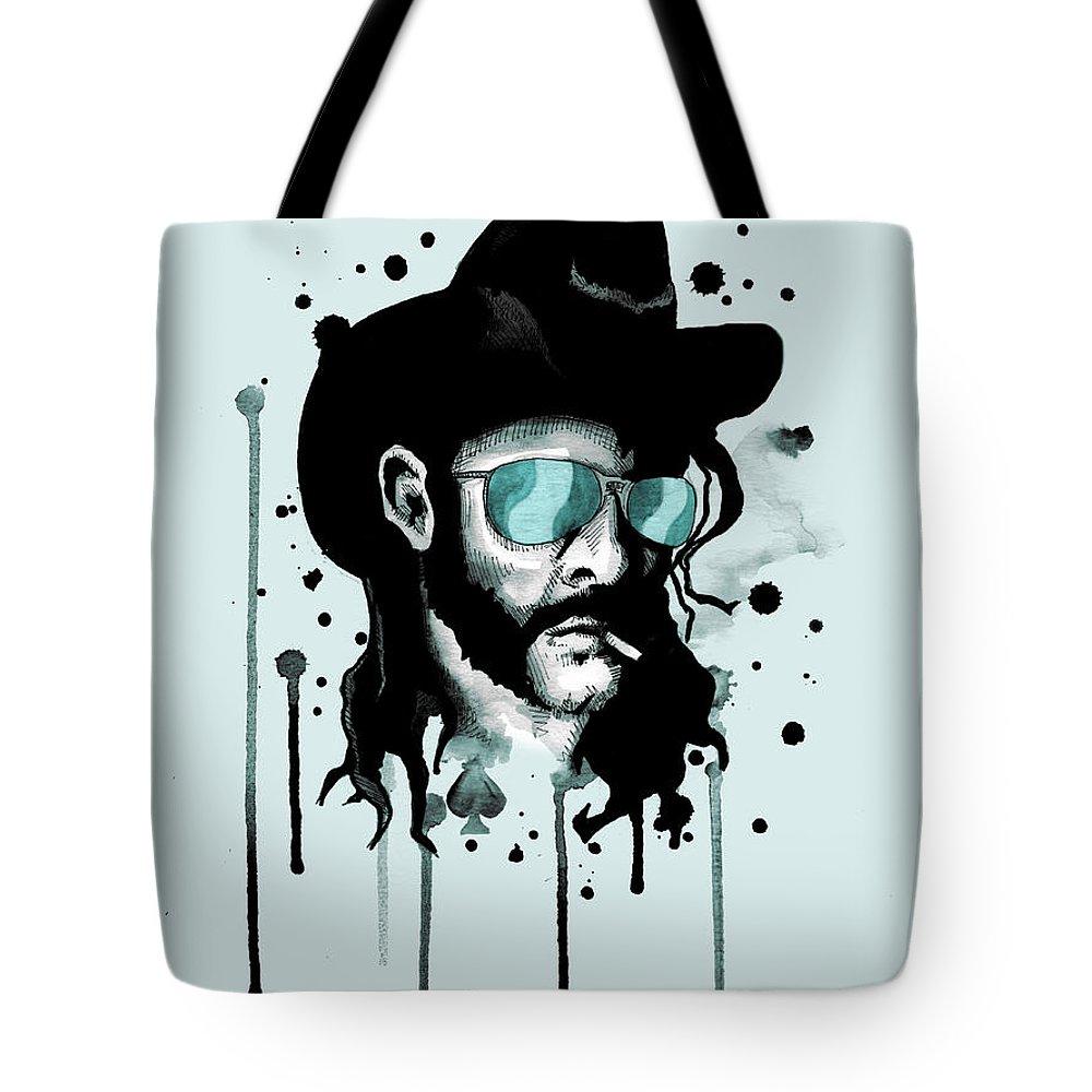 Rip Drawings Tote Bags