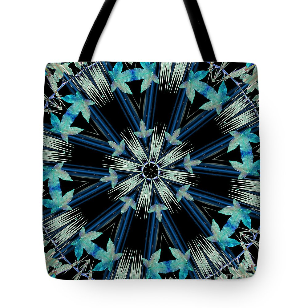 Kaleidoscope Tote Bag featuring the photograph Acquiescence by Elaine Teague