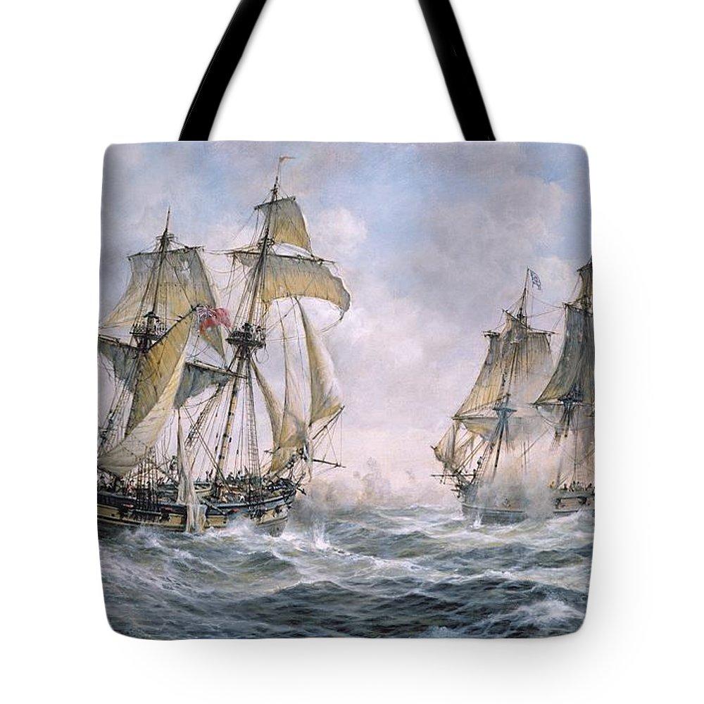 Great Britain Paintings Tote Bags