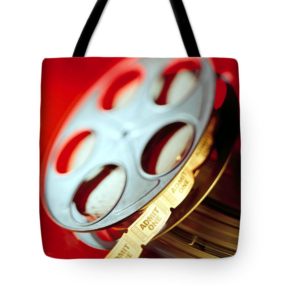 Admit Tote Bag featuring the photograph Admit One. by Robert Ponzoni
