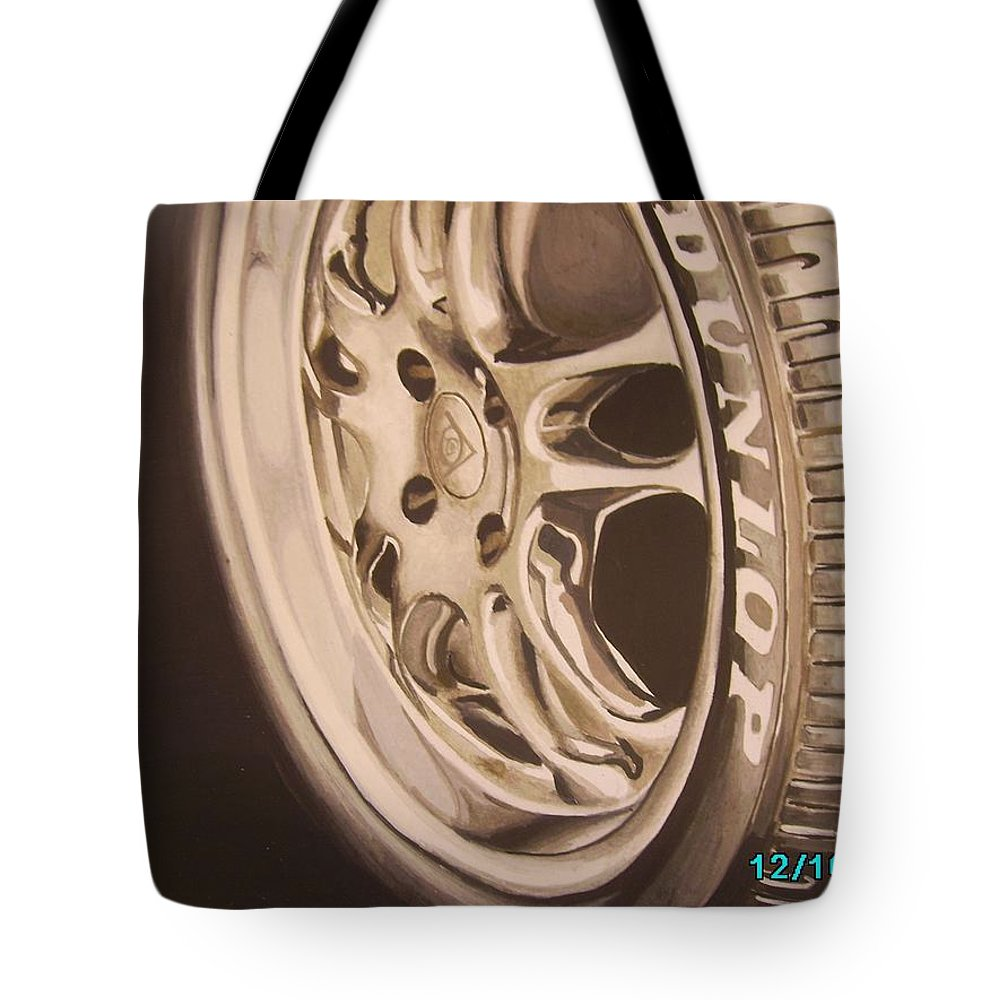 Graphic Tote Bag featuring the digital art Advert by Olaoluwa Smith