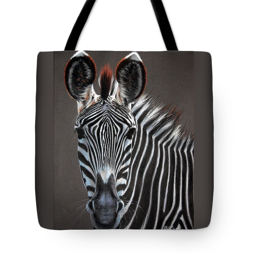 Wildlife Tote Bag featuring the painting African Beauty by Deb Owens-Lowe